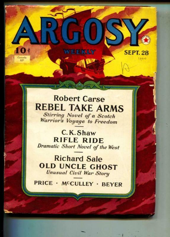 Argosy-Pulp-9/28\1940-Robert Carse-Richard Sale