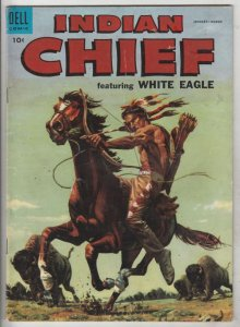 Indian Chief #17 (Jan-56) VG/FN Mid-Grade White Eagle