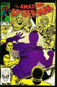 AMAZING SPIDER-MAN #247-1983-MARVEL VF