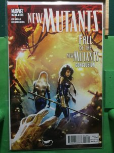 New Mutants #19 2009 series Fall of the New Mutants Conclusion