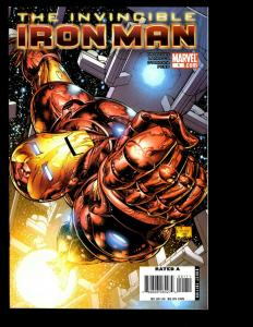 Lot Of 6 Invincible Iron Man Marvel Comics # 1 2 3 4 5 6 Avengers Thor Hulk SM1