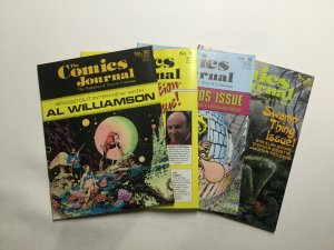 Comics Journal 90-96 Lot Magazine Very Fine Vf 8.0 Pacific Comics