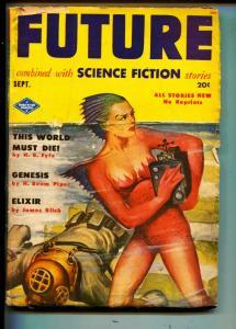 Future-Pulp-9/1951-Larry Shaw-H. Beam Piper-James Blish