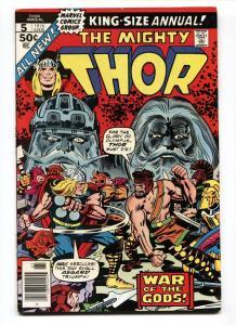 THOR ANNUAL #5-Jack Kirby-comic book -MARVEL-