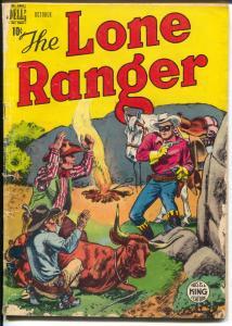 Lone Ranger #16 1949-Dell-Geronimo's Raiding Party-Tonto-Silver-VG+