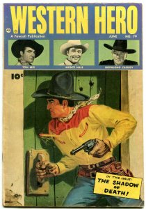 WESTERN HERO #79 1949-MONTE HALE-TOM MIX-HOPALONG CASSIDY VG
