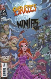 Ghost Pirates vs. Ghost Ninjas #1 VF/NM; Antarctic   save on shipping - details