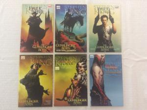DARK TOWER: THE GUNSLINGER BORN #1, 2-3rd Print Variant, 3, 4, 5 & 7 - LOT OF 6
