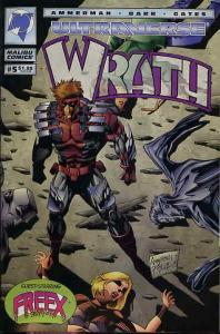 Wrath #5 VF/NM; Malibu | save on shipping - details inside