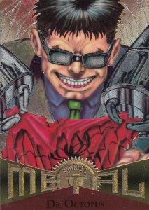 1995 Fleer Marvel Metal  DOC OCTOPUS  #72  Card