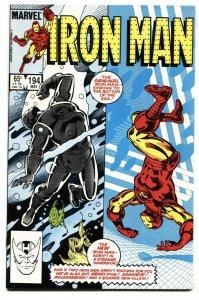 IRON MAN #194 1st Scourge of the Underworld COMIC BOOK NM-