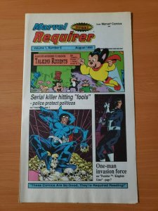Marvel Requirer #6 Promo Punisher ~ NEAR MINT NM ~ 1990 Marvel Comics