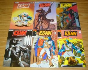 Eb'nn #1-6 VF/NM complete series - now comics - raven/crow warrior 2 3 4 5 set