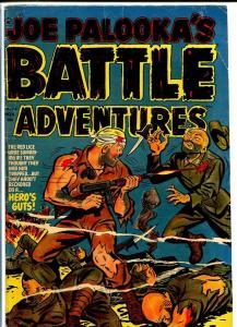 JOE PALOOKA #74 1952-HARVEY COMICS-VIOLENT BLOODY CVR VG