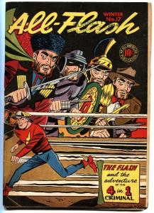 ALL-FLASH #17-1945-GOLDEN-AGE DC-HIGH GRADE BLACK COVER