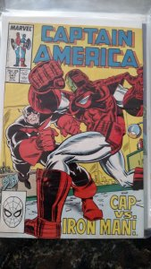 Captain America #341 (Marvel,1988) Condition NM