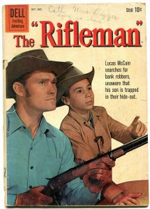 Rifleman #5 1960- Dell Western- Chuck Connors- Johnny Crawford G