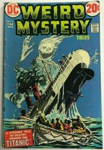 WEIRD MYSTERY#2 FN/VF 1972 DC BRONZE AGE COMICS