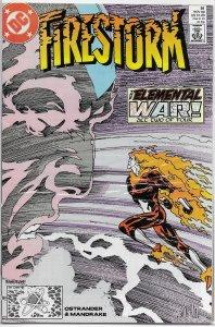 Firestorm: The Nuclear Man (vol. 1, 1982) # 91 FN (Elemental War 2) Red Tornado