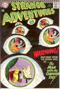 STRANGE ADVENTURES 196 F+   January 1967 COMICS BOOK