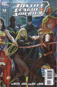 Justice League of America (2nd Series) #12B VF/NM; DC | save on shipping - detai