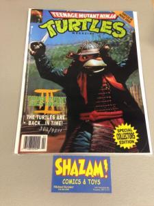 Teenage Mutant Ninja Turtles Magazine 3D signed by Eastman