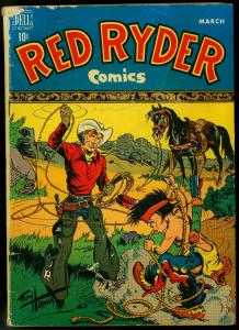 Red Ryder #68 1949- Dell Golden Age Western- Fred Harman G+