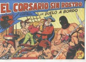 El Corsario sin Rostro, facsimil numero 30: Duelo a bordo