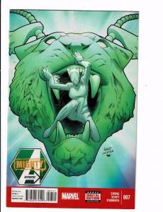 6 Mighty Avengers Marvel Comic Books # 7 8 9 10 11 12 Spider-Man Hulk Thor J120