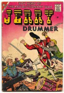 Jerry Drummer #12 1957- Final issue- Charlton War G