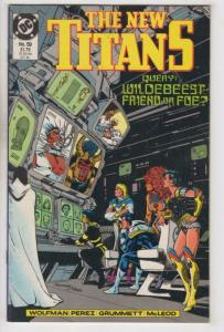 THE NEW TITANS #59, VF/NM, George Perez, DC 1989 more DC in store
