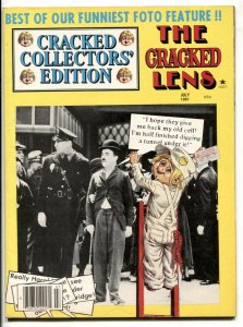Cracked Collector's Edition July 1981- CRACKED LENS- Chaplin cover