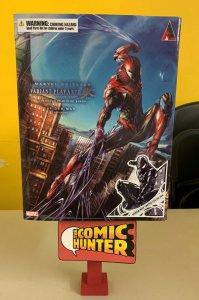 Marvel Universe Variant Action Figure Play Arts Kai  Black Custume Spider-Man