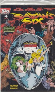 Satan's Six #4 (with card) VF/NM; Topps   save on shipping - details inside