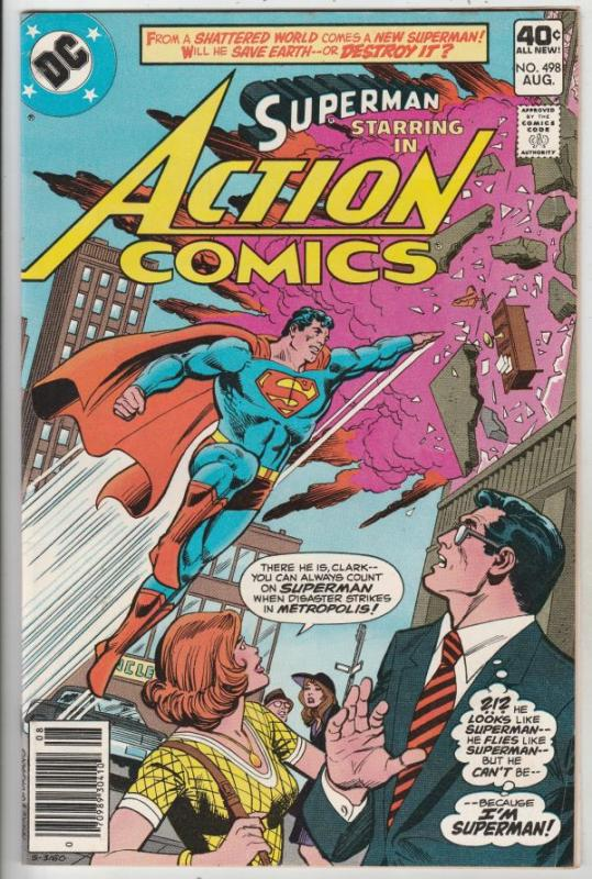 Action Comics #498 (Aug-79) VF High-Grade Superman