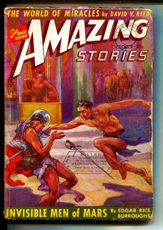 Amazing Stories-Pulps-10/1941-Edgar Rice Burroughs-Festus Pragnell