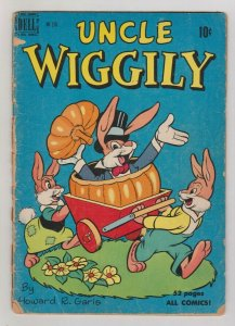 UNCLE WIGGLY DELL FOUR COLOR #276 1954