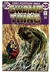 SWAMP THING #1-DC -1972- Justice League Dark BRONZE-AGE comic book VF