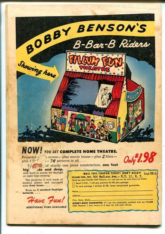 Koko and Kola #28 1950-ME-A-1 Comics #28-Special Christmas Issue-VG-