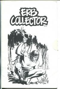 ERB Collector  #11 1991-Edgar Rice Burroughs fanzine-Tarzan-Mike Zeckl-FN