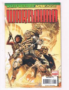 Warbound # 1 NM Marvel Comic Books World War Hulk: Aftersmash The Hulk WOW!! SW6