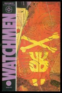 WATCHMEN #5 1987-DAVID GIBBONS-ALAN MOORE-DC COMICS VF