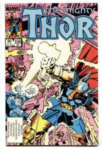 THOR #339-Marvel comic book BETA RAY BILL-1st Stormbreaker VF/NM