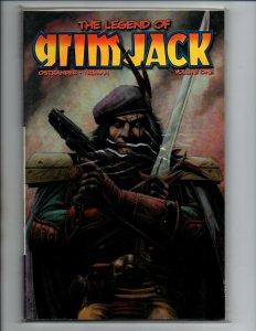 The Legend of Grim Jack Volume One TPB - SC - Ostrander - 2004 - IDW - NM