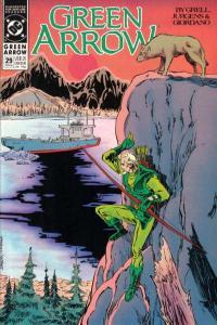 Green Arrow (1988 series) #29, NM- (Stock photo)