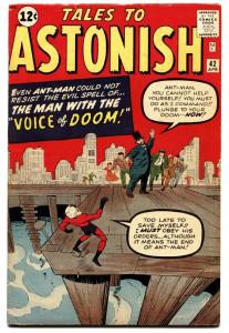 TALES TO ASTONISH #42 comic book 1963-ANT-MAN-KIRBY-SILVER AGE-MARVEL-VF