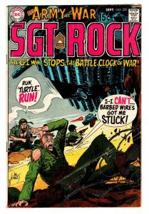 OUR ARMY AT WAR #223-SGT. ROCK-COOL ISSUE! vg-