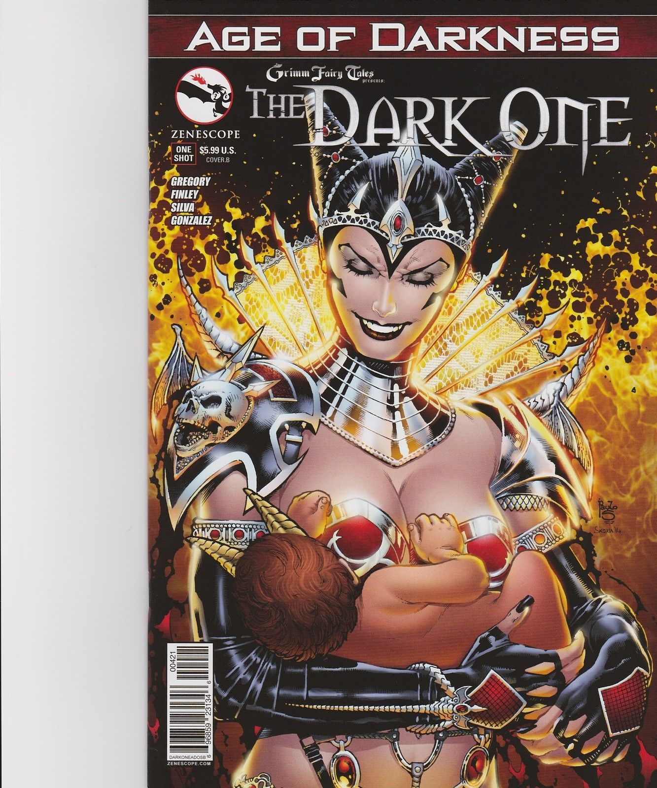 2014 Zenescope WONDERLAND AGE OF DARKNESS Cover A One-Shot Nice NM New