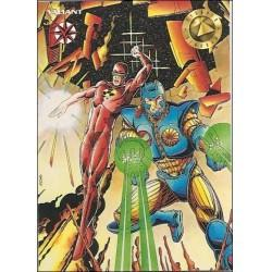 1993 Valiant Era X-O MANOWAR #13 - Card #72
