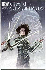 EDWARD SCISSORHANDS #1, NM, Drew Rausch, Kate Leth, 2014, more IDW in store